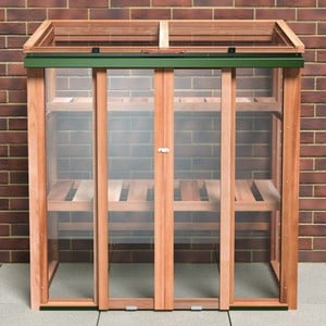 Growhouse Upright Cedar Coldframe