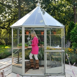 Our Remarkably Well Proportioned Octagonal Shape Harrod Elegance Glasshouse Has Elevated Design To A Higher Level. It Fuses Together The Practical And