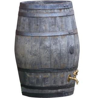 Oak Barrel Water Butt