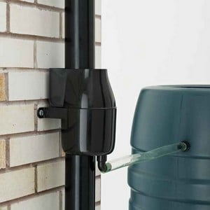 The Gutter Mate Can Be Easily Installed On Either Round Or Square Plastic Downpipes. The Water Passes Through A Filter Within The Guttermate Which Sto