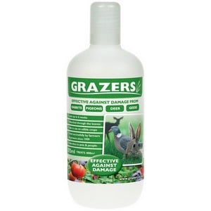 Grazers Rabbit Repair Kit Is A Completely Harmless And Non-toxic Liquid, Effective Against Rabbits, Pigeons, Deer Geese. A Simple Nutrient Based Spray