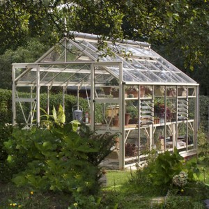 The Harrod Superior Greenhouse In Antique Ivory Is An Elegant And Strong Greenhouse Which Comes With A 25 Year Framework Guarantee. This High Quality
