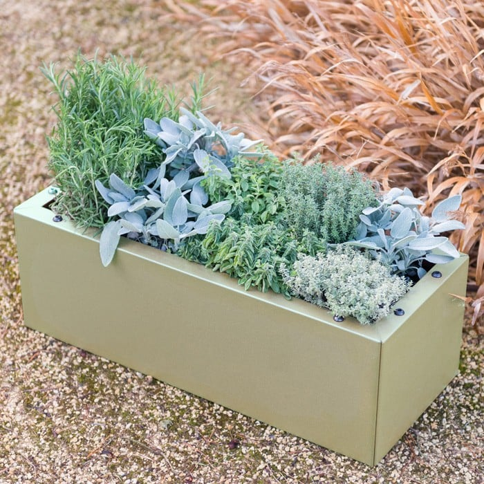 planters trough outdoor interesting planter on