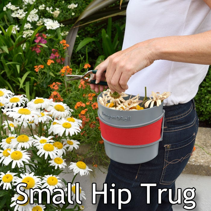 The Hip-trug By Burgon And Ball Is A New Gardening Accessory That Clips Easily To Belt, Pocket Or Waistband, Leaving Both Hands Free For Gardening Job