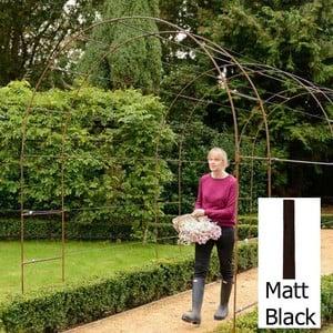 Harrod Linked Vintage Wire Arches - Matt Black