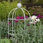 Lobster Pot Plant Supports - Silk Grey