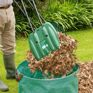 Gather Raked Leaves Without Breaking Your Back In Half The Time With These Long Handled Leaf Grabs. The Tough Polypropylene Blades Make Light Work Of
