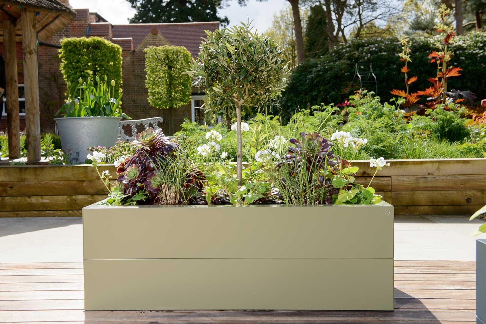 Metal Raised Beds Heritage Green Harrod Horticultural