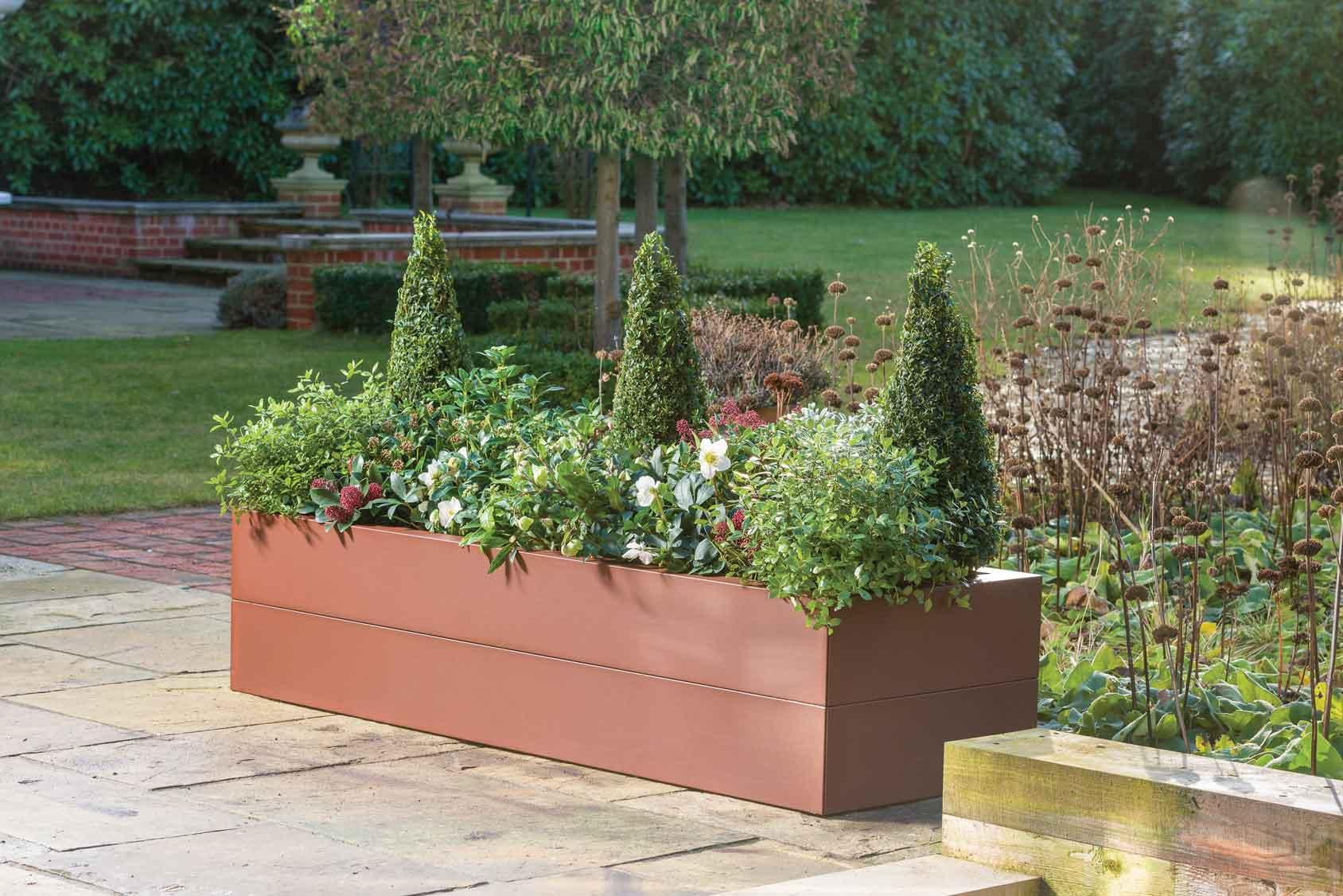Picture of: Metal Raised Beds Corten Effect Harrod Horticultural