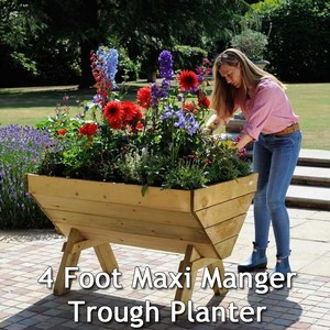 Getting The Most From These Maxi Manger Trough Planters Isnt Difficult And Even Though Quality Raised Beds And Planters Are Pardon The Pun A Huge Grow