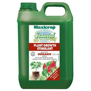 The Maxicrop Original Organic Plant Food Growth Stimulant Is A Potent, Plant-benefitting Liquid Plant Feed Based On Seaweed Extracts And Almost Guaran