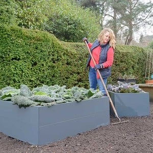 Harrod Metal Raised Beds - Anthracite Grey