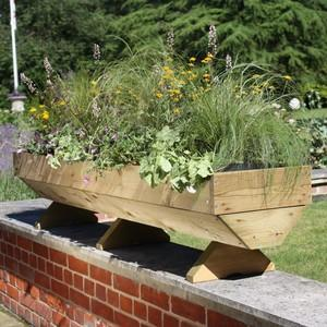 The Micro Manger Trough Style Planters Are A Slimline Version Of The Maxi And Mini Manger Raised Planters And Are Arguably The Best Way To Grow Your O