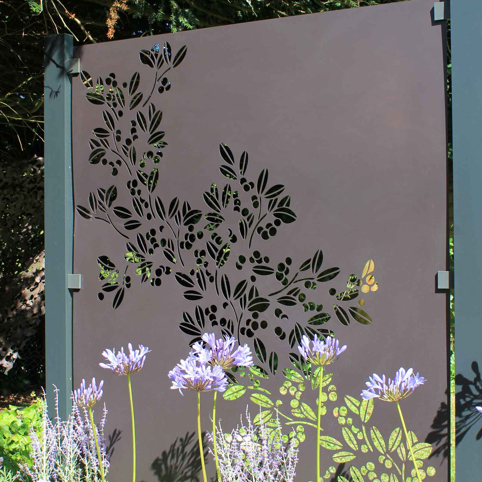 Powder Coated Aluminium Screens (drift Design)
