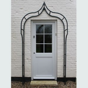 The Harrod Ogee Door Canopy, Designed And Manufactured By Us In The Uk And Endorsed By The Rhs, Is Made To The Same Exacting Standards As Our Popular