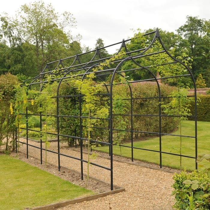 ogee garden pergola harrod horticultural uk. Black Bedroom Furniture Sets. Home Design Ideas