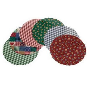 Jam Jar Fabric Covers