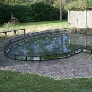 For Those With An Irregular Shape Pond, Our Combination Of 25mm/1 Square X 1. 5mm Thick Galvanised Steel Linking Bars And Tough Nylon Connectors Will