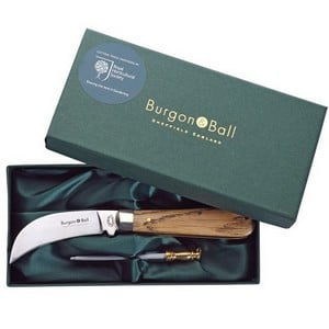 Classic Pruning Knife And Steel Gift Set
