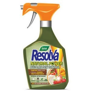 Resolva Natural Power Bug And Mildew Control Works By Physical Action To Give Safe And Effective Control Of A Wide Range Of Plant Pests And Mildew. sa