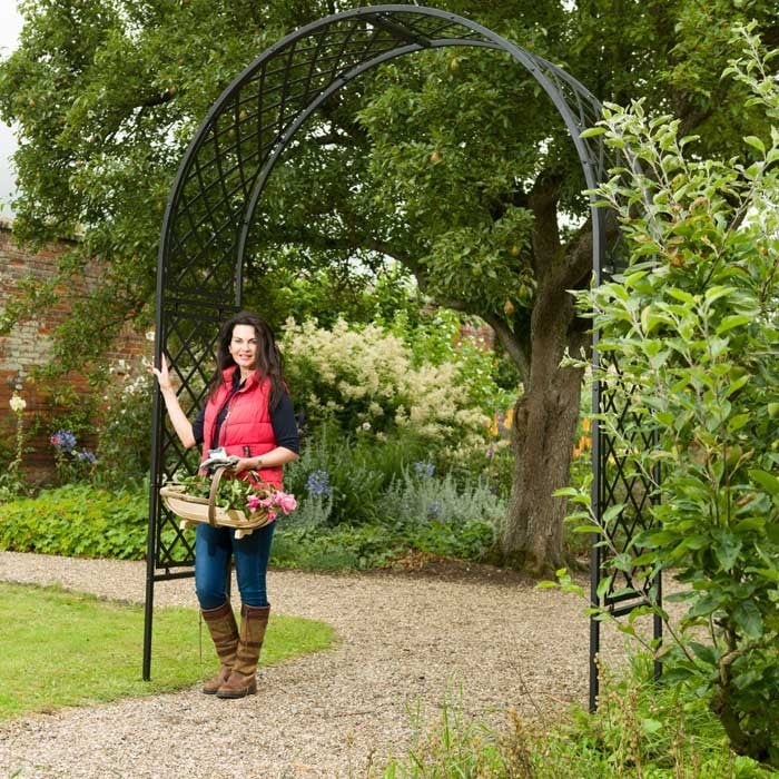 Roman Full Lattice Superior Garden Arch