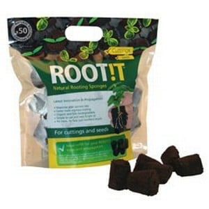 Root!t Natural Rooting Sponges Refill (50 Pack)