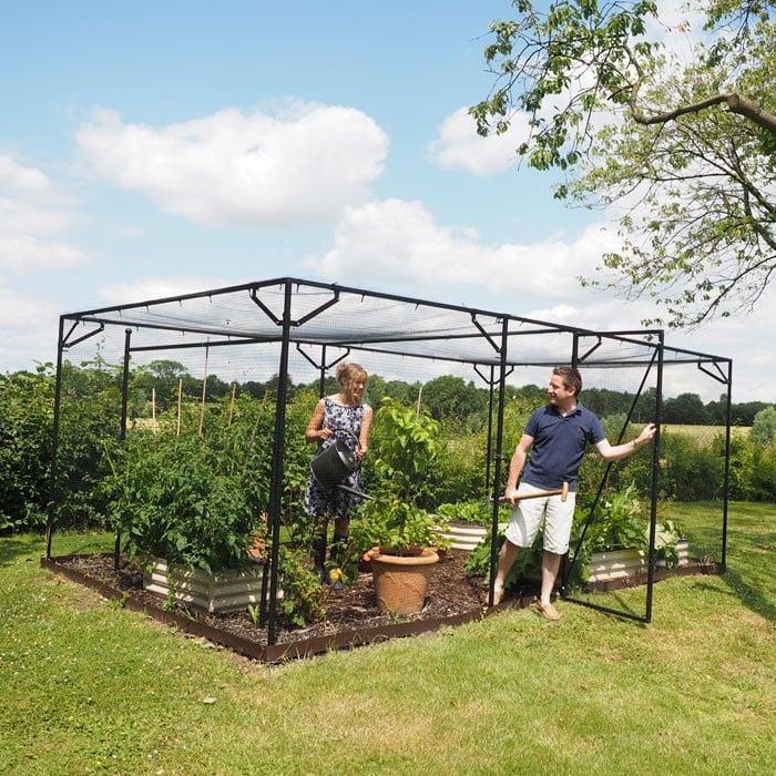 Steel Fruit Cages Harrod Horticultural