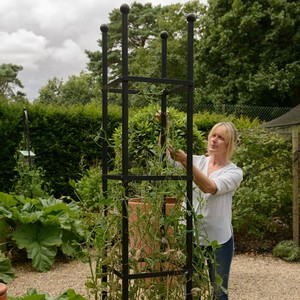 Strong, Stunning, Simple And Stylish Sum Up The Steel Square Column Obelisk Which, At 2. 05m In Height, Will Make A Dramatic Addition To Any Garden. i