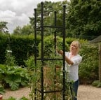 Steel Square Obelisks