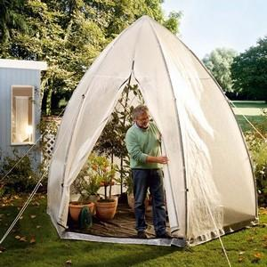 Overwintering Plant Tent
