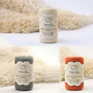 Twool Garden Twine Is Made In Britain From The Lustre Long Wool Of The Rare Whiteface Dartmoor Sheep, A Much Under Used Natural Resource. Indigenous T