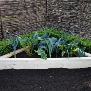 Standard Corner Wooden Raised Beds
