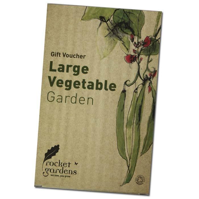 Large vegetable garden gift voucher harrod horticultural for Gardening gift vouchers