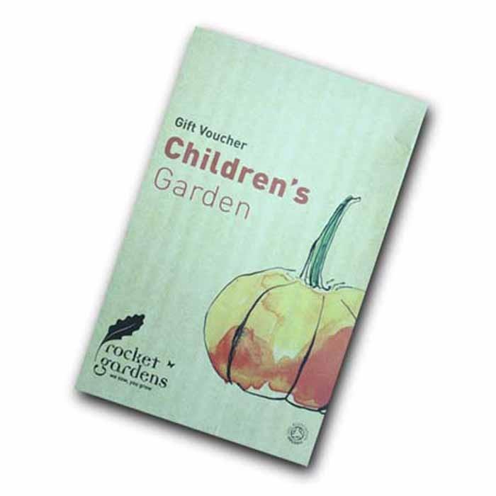 Childrens vegetable garden gift voucher harrod for Gardening gift vouchers
