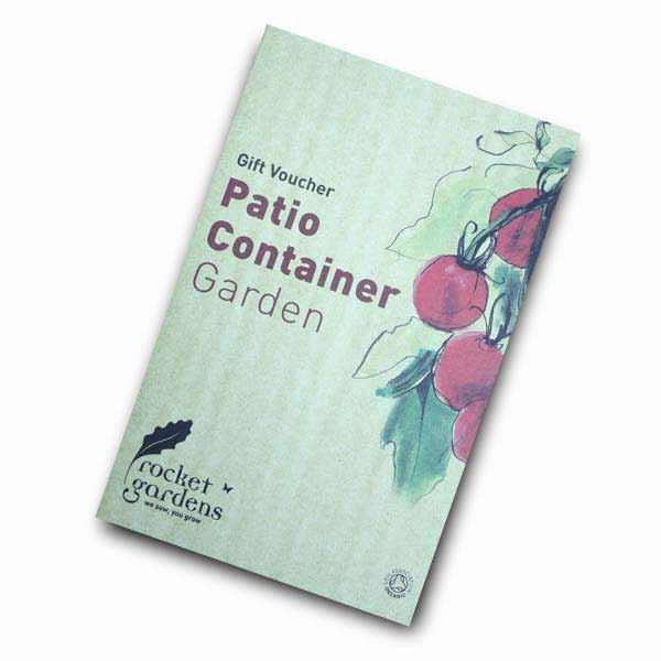 Patio container garden gift voucher harrod horticultural for Gardening gift vouchers