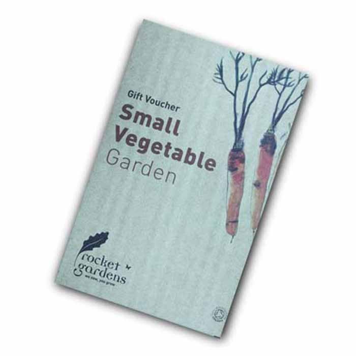 Small vegetable garden gift voucher harrod horticultural for Gardening gift vouchers