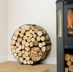 Harrod Circular Wire Log Holder (Floor Standing)
