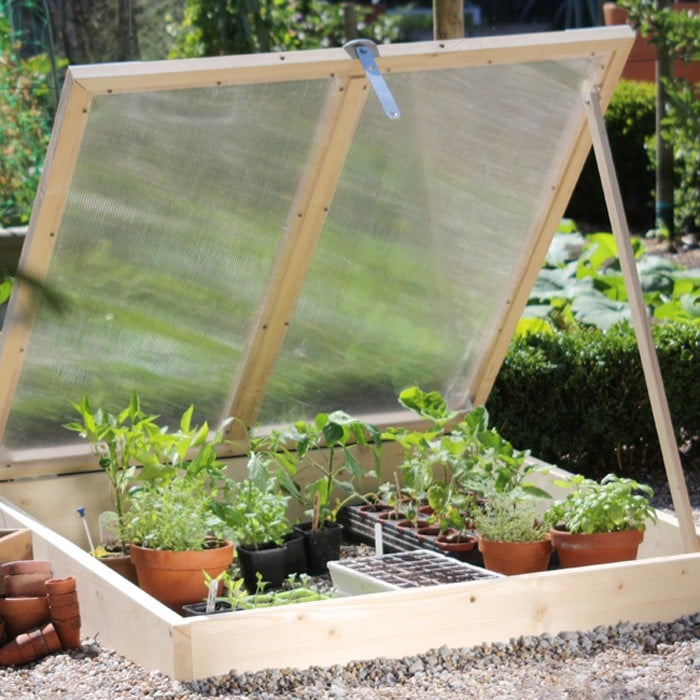 Wooden Cold Frame - Harrod Horticultural (UK)