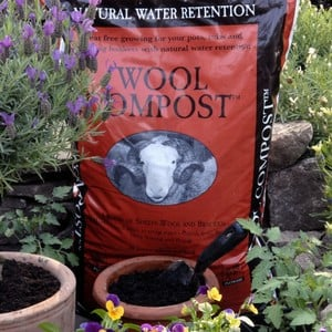 Sheeps Wool Compost Is An Excellent Eco-friendly Peat-free Garden Compost That Mixes Bracken And Sheeps Wool To Help Retain Water While Releasing Nutr