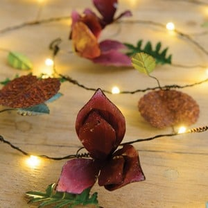 Automatic LED String Lights Petit Fleur Design
