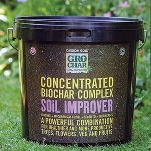 Grochar biochar concentrated soil improver harrod for Soil improver