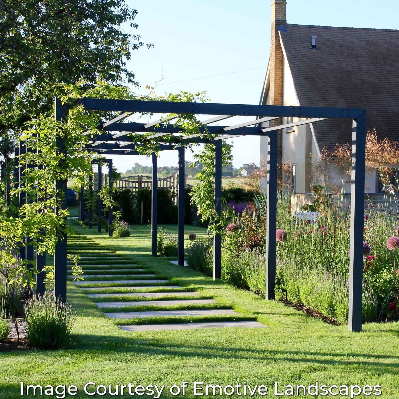 Pergola Roof Ideas Uk: Contemporary Arch & Pergola