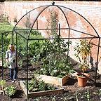 Dome Roof Decorative Steel Fruit Cage