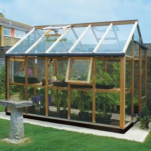 Essential 6ft x 10ft Cedar Greenhouse by Gabriel Ash