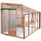 Essential 6ft x 10ft Lean-To Greenhouse by Gabriel Ash