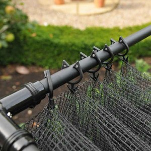 The Harrod Frame Saver Clips Are Easy To Use, Simply Hook Though The Netting Mesh And Then Clip Onto The Cage Framework. The Clips Act Like A Curtain