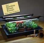 Geopod Heated Propagator with Lights