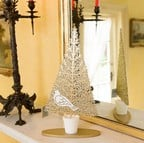Gold Christmas Trees by Gisela Graham