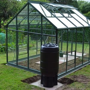 The Optional Greenhouse Guttering Diverter Is Required If You Want To Divert The Rainwater To 2 Separate Water Butts. every Superior Greenhouse Is Sup