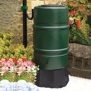 Harcostar 227 Litre 50 Gallon Water Butt Amp Free Rain Trap